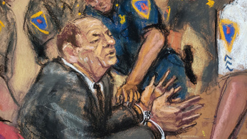 Miután az esküdtszék bűnösnek találta, kórházba kellett szállítani Harvey Weinsteint