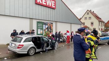 Nem volt ismeretlen a karneváli gázoló a német rendőrség számára