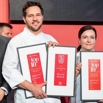 Ismét a Stand lett az Év Étterme - Átadták a legjobb éttermeknek járó díjakat