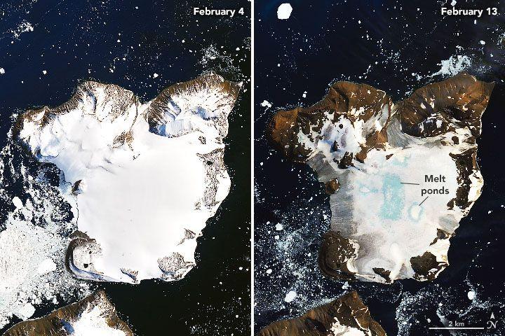 Soha nem látott szigetet fedeztek fel az Antarktisz partjainál