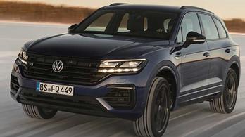 Hibrid hajtást kap a legsportosabb VW Touareg