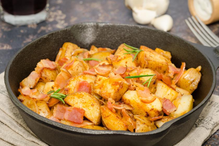 sörrel sült krumpli recept