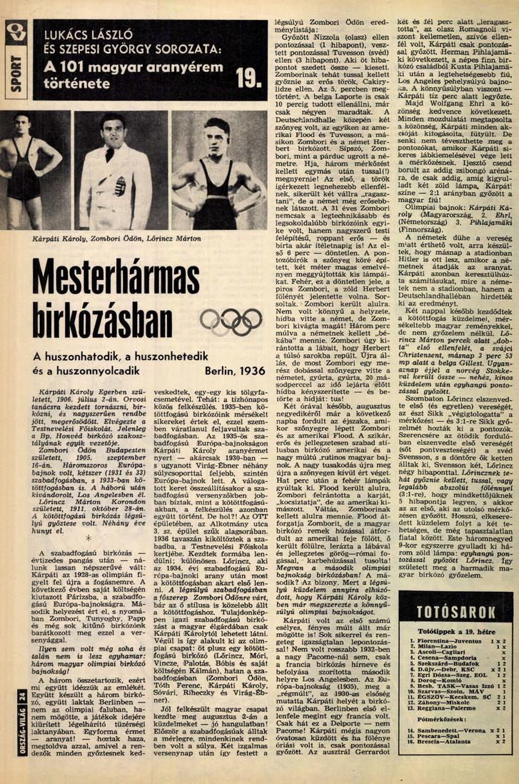 Ország-Világ, 1975. január-június (19. évfolyam, 1-26. szám)