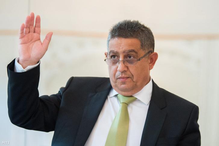 Balogh János, az Országos Roma Önkormányzat (ORÖ) elnöke