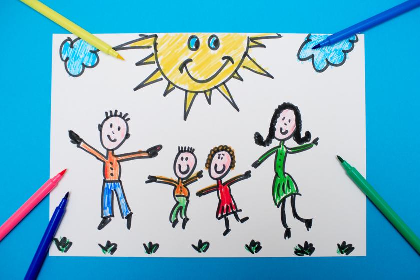 Hogyan rajzol le téged a gyerek? Ezt gondolja rólad valójában