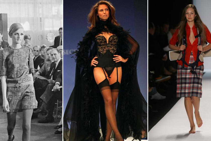 Képeken a leghíresebb szupermodellek, amikor először léptek kifutóra