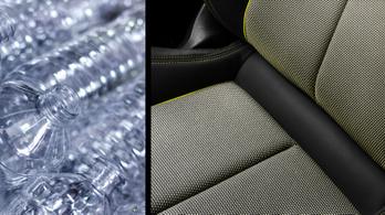 Üdítős palackból készül a következő Audi A3 üléshuzata