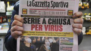 Koronavírus: a futball-Eb csak akkor marad el, ha rosszabbra fordul a helyzet