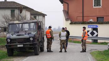 Megnéztük, hogy őrzi az olasz hadsereg a karantént