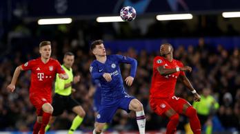 Chelsea–Bayern 0–0, Napoli–Barcelona 0–0