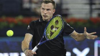 A teniszelnök hátralépett, ezzel segítette Fucsovics visszatérését a válogatottba
