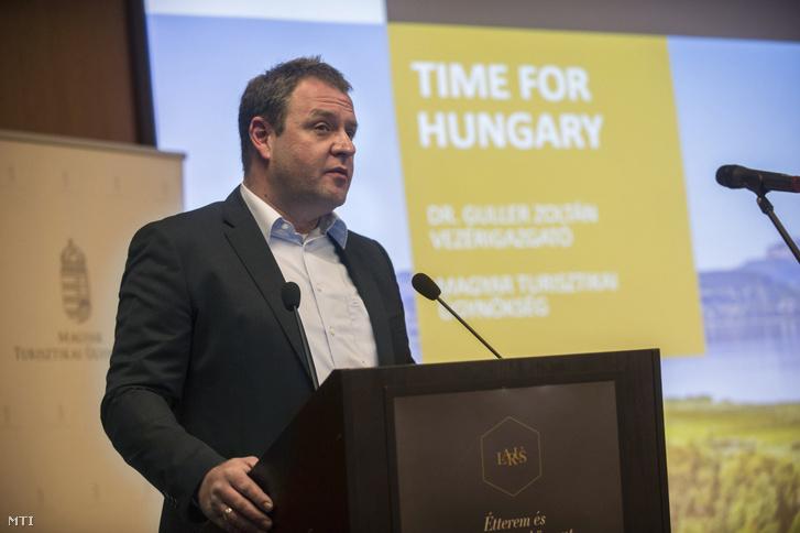 Guller Zoltán, a Magyar Turisztikai Ügynökség (MTÜ) vezérigazgatója