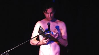 Meztelen férfiszínészek fognak írónőktől felolvasni