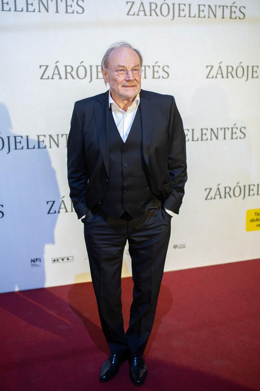 Klaus Maria Brandauer Oscar-jelölt és Golden Globe-díjas színész, a Zárójelentés főszereplője, a Magyar Filmdíj 2020 - Magyar Mozgókép Szemle a díszvendége.