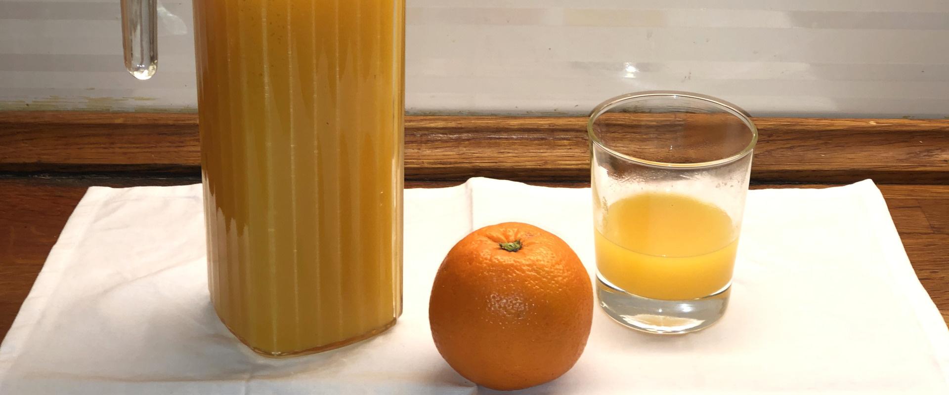 narancsszörp
