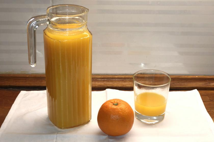 narancsszörp recept