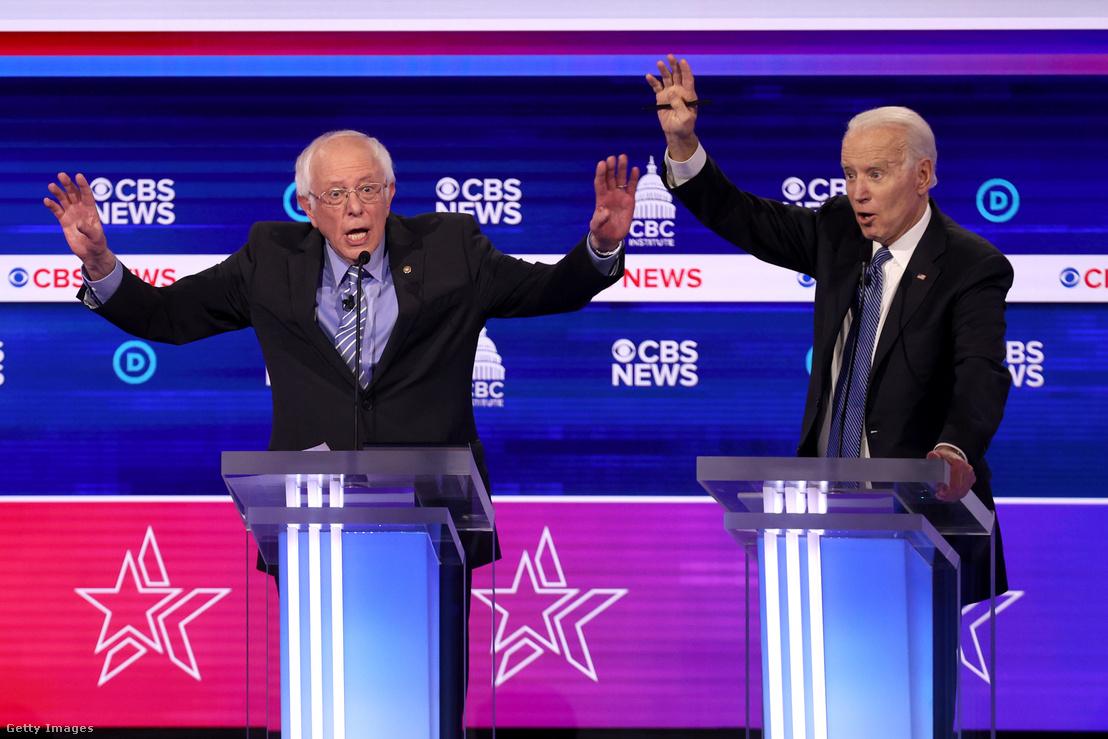 Bernie Sanders és Joe Biden