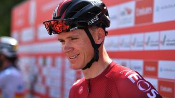 A négyszeres Tour-győztes bringás tíz perc hátrányt kapott a visszatérő versenyén
