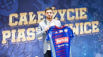 A DAC-tól igazolt magyar játékost a lengyel bajnokcsapat