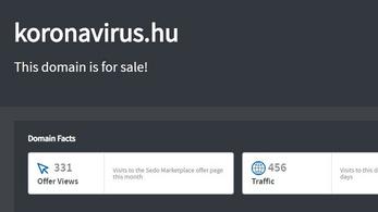 Eladó a koronavirus.hu, de nem ezen az oldalon tájékoztat majd a kormány