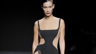 És ezzel a ruhával még csak nem is Bella Hadid volt a legdögösebb a Muglernél