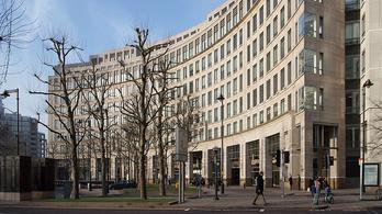 Koronavírus-gyanú miatt evakuáltak egy irodaházat Londonban