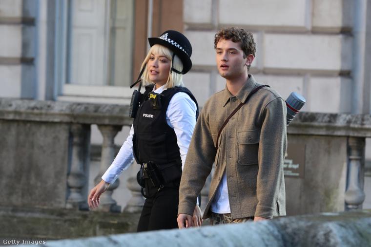 Rita Ora és Rafferty Law közösen forgat. Kattintson a képre nagyobb verzióért!