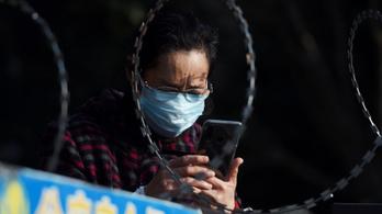 A kínai digitális diktatúra levadássza a járványhelyzetről negatívan posztolókat