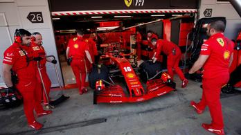 Újabb F1-futamot fenyeget a koronavírus, a Ferrari megelőző lépéseket tett