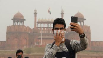 Továbbra is Újdelhi a világ legszennyezettebb levegőjű fővárosa