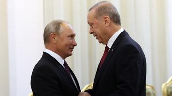 Putyin Erdoğannak: Boldog Születésnapot!