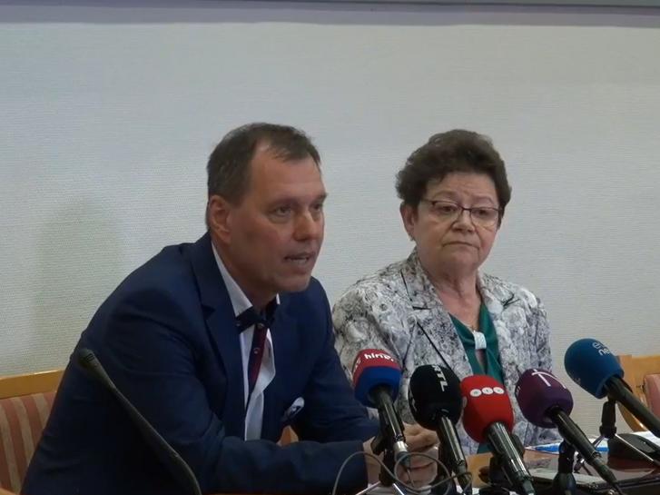 Szlávik János és Müller Cecília