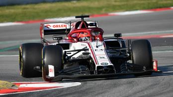 F1-teszt: Kubica élen, Vettelnek újra nem volt sima napja