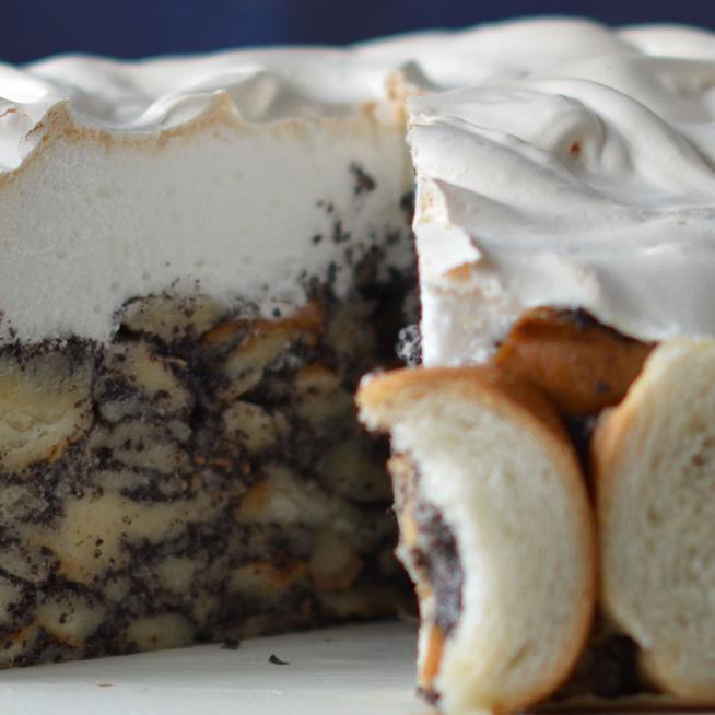 Mákosguba-torta egyszerűen: elmondhatatlanul finom és könnyű elkészíteni