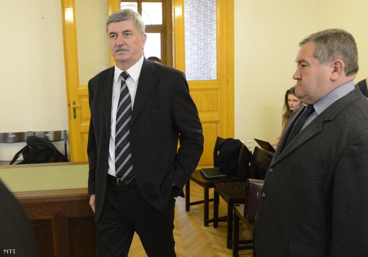 Kocsis István a Fővárosi Törvényszék tárgyalótermében 2015. április 15-én
