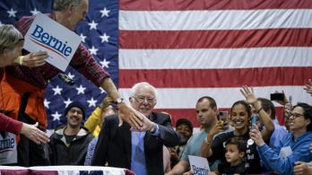 A választók szerint Sanders legyőzheti Trumpot