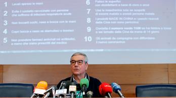 Már 14 halottja van a koronavírusnak Olaszországban