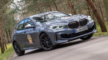 Menetpróba: BMW M135i XDrive, 2019. – Mortefontaine, Év Autója-tesztelés