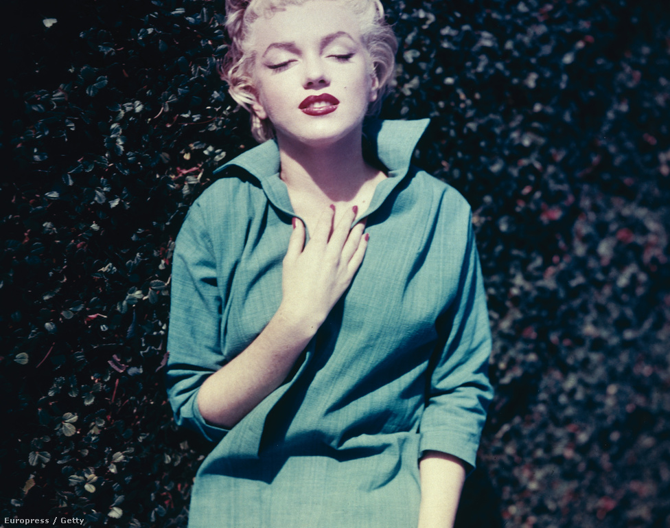 Marilyn Monroe Palm Spirngs-i otthonában, 1954-ben.