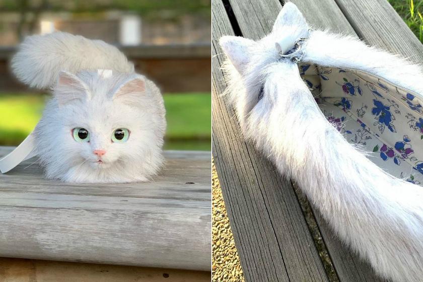 Az autodidakta módon tanult Pico Miho művész két gyerek édesanyja, pár éve kezdett bele a táskák gyártásába. Minden egyes darab kézzel készült, és egy normál macska méretével rendelkezik.
