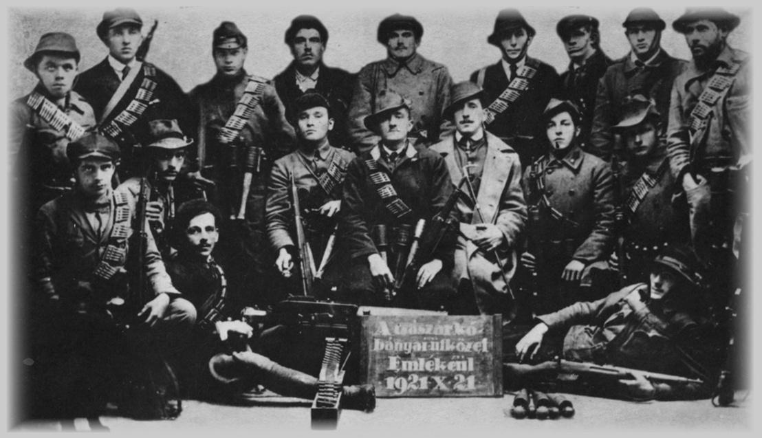 A Rongyos Gárda tagjai 1921-ben
