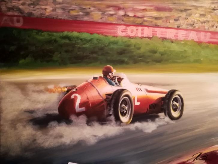 Stirling a Maseratiban