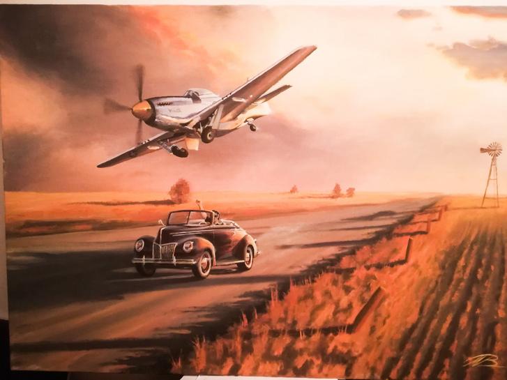Olykor repülők is felbukkannak Balázs képein