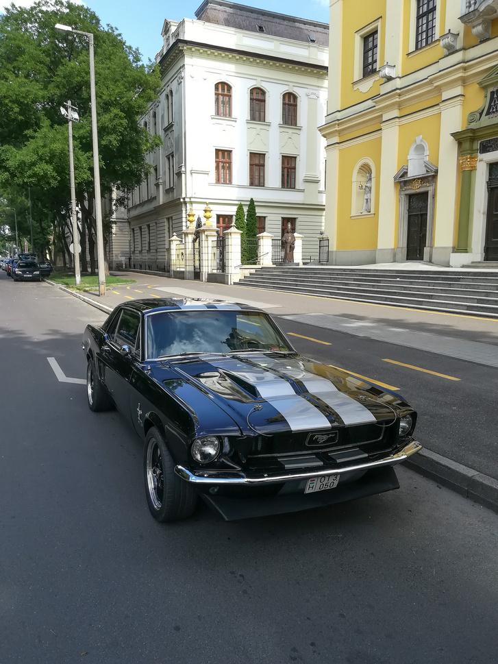 Balázs Mustangja mai állapotában