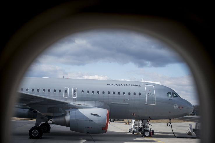 Airbus A319 típusú repülőgép