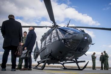 H145M típusú helikopter