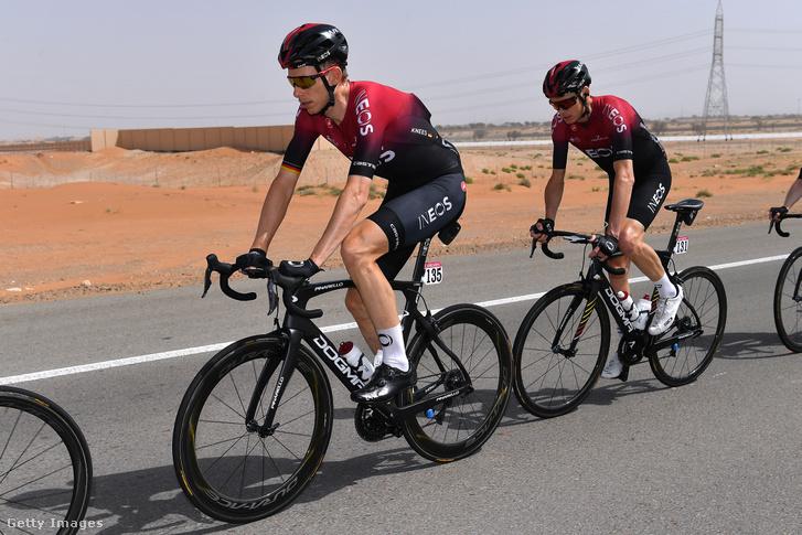 Chris Froome teker a 2020-as UAE Touron
