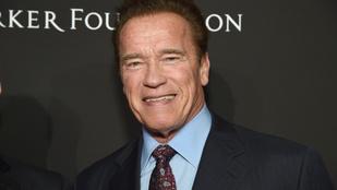 Arnold Schwarzenegger a saját asztalánál etette a póniját és a szamarát