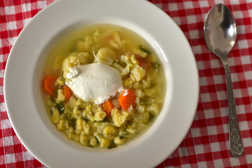 karfiol leves kicsi