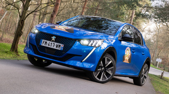 Menetpróba: Peugeot e-208, Mortefontaine, Év Autója-tesztelés –  2019.